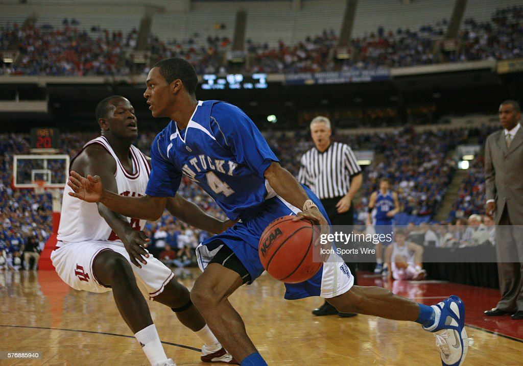 Basketball - NCAA - Indiana vs. Kentucky : News Photo
