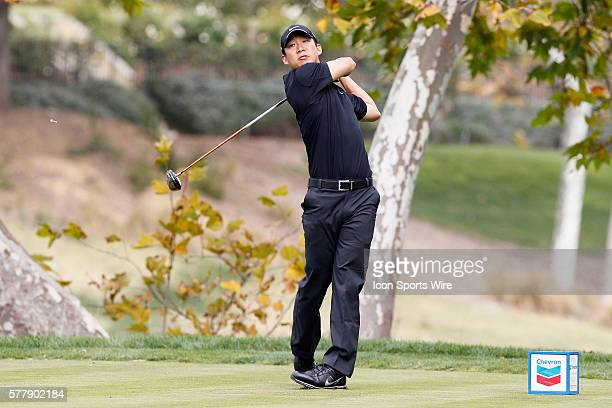 Anthony Kim during second round of the Chevron World Challenge at the Sherwood Country Club in Thousand Oaks CA
