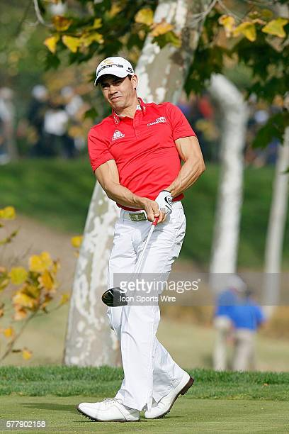 Camilo Villegas during second round of the Chevron World Challenge at the Sherwood Country Club in Thousand Oaks CA