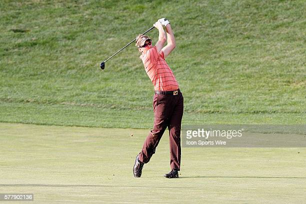 Ian Poulter during second round of the Chevron World Challenge at the Sherwood Country Club in Thousand Oaks CA