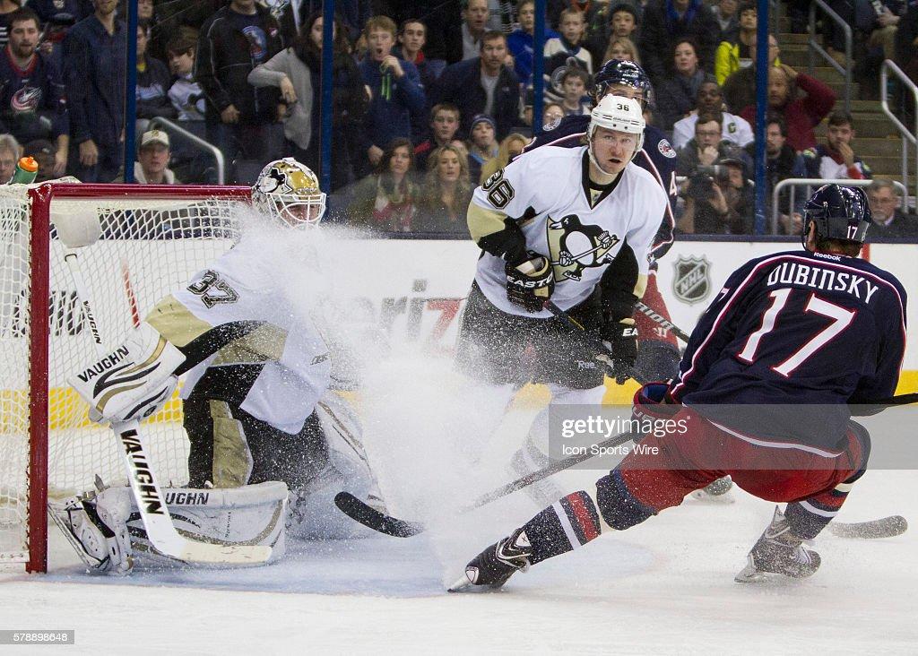 NHL: DEC 29 Penguins at Blue Jackets : News Photo