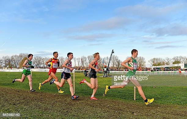 December 2013; Ireland's Paul Pollock, left, and Michael Mulhare, right, on their way to finishing in 26th and 15th place respectively in the Men's...