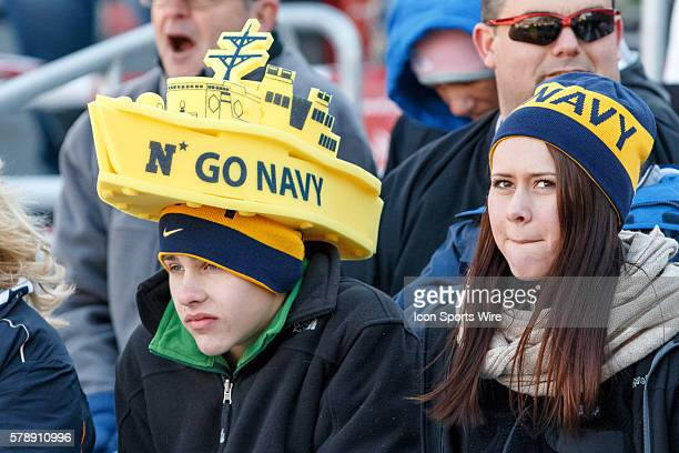 Navy Midshipmen fans during the Bell Helicopter Armed Forces Bowl between the Navy Midshipmen and Middle Tennessee State Blue Raiders