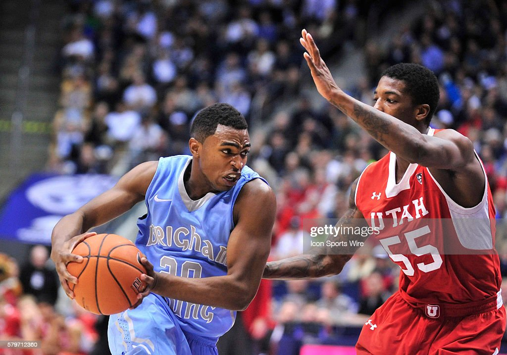 NCAA BASKETBALL: DEC 10 Utah at BYU : News Photo