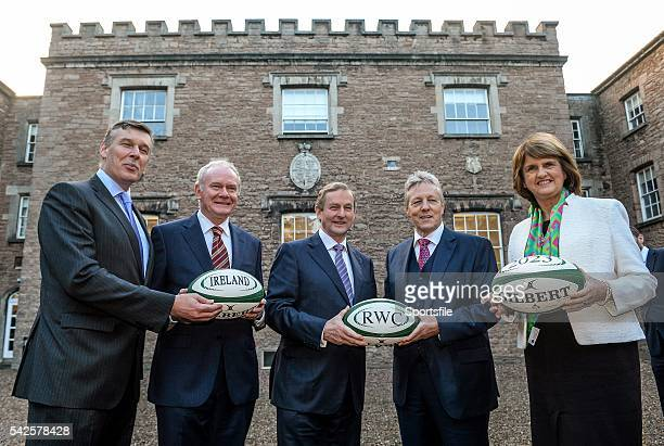 December 2014; In attendance at the announcement of the Irish Rugby Football Union, Irish Government and the Northern Ireland Executives' intention...