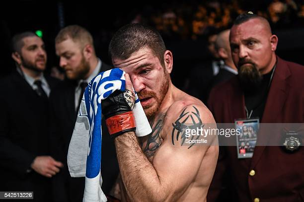 10 December 2015 Jim Miller following his loss to Michael Chiesa in their lightweight bout UFC Fight Night VanZant v Namajunas The Chelsea at The...