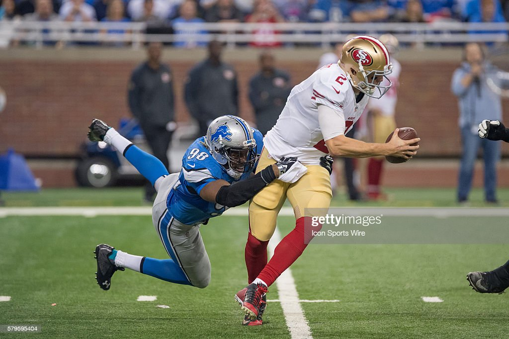 NFL: DEC 27 49ers at Lions : News Photo