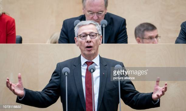 Carsten Sieling President of the Senate and Mayor of the Free Hanseatic City of Bremen will speak during the session of the Bundesrat In the last...
