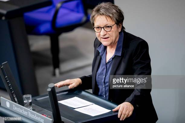 Cornelia Möhring member of the German Bundestag speaks in the German Bundestag on the motion '§ 219a StGB immediately delete information about...