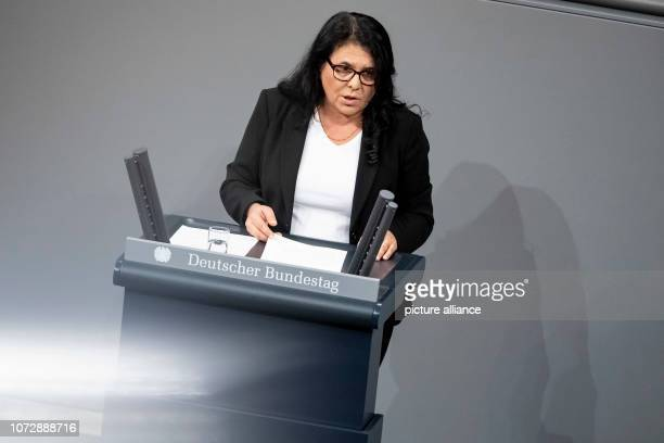 Gülistan Yüksel member of the German Bundestag speaks on the motion '§ 219a StGB immediately delete information about abortions allow' in the German...