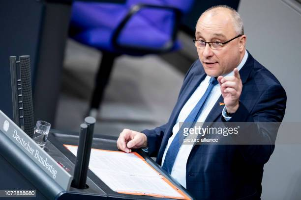 Jens Maier member of the German Bundestag speaks on the motion '§ 219a StGB immediately delete information about abortions allow' in the German...
