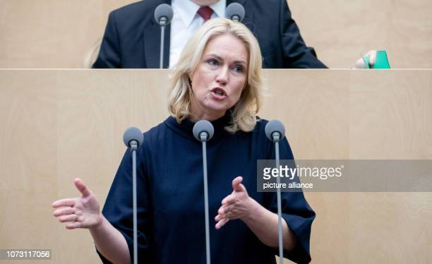 Manuela Schwesig Prime Minister of MecklenburgWestern Pomerania will speak during the session of the Bundesrat In the last session of the year the...