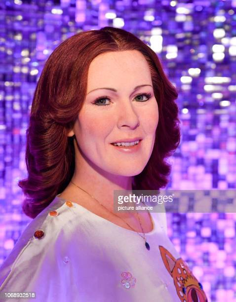 The wax figure of singer AnniFrid Lyngstad from the cult band ABBA is in Madame Tussauds in the new Abba area The new part of the exhibition in the...