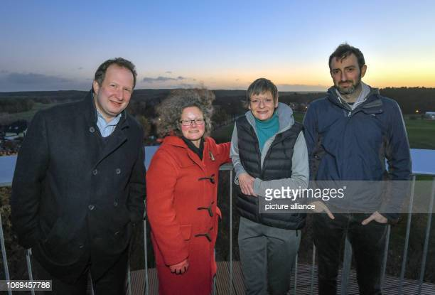 04 December 2018 Brandenburg Joachimsthal David Coleman Ruth Butterfield Sarah Phillips and Adam Bogud all British citizens living in Brandenburg are...