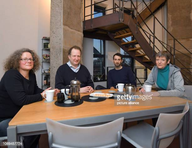 04 December 2018 Brandenburg Joachimsthal Ruth Butterfield David Coleman Adam Bogud and Sarah Phillips all British citizens living in Brandenburg are...