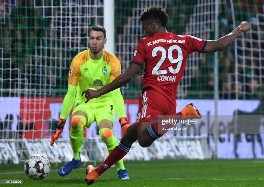 Werder Bremen - Bavaria Munich : News Photo