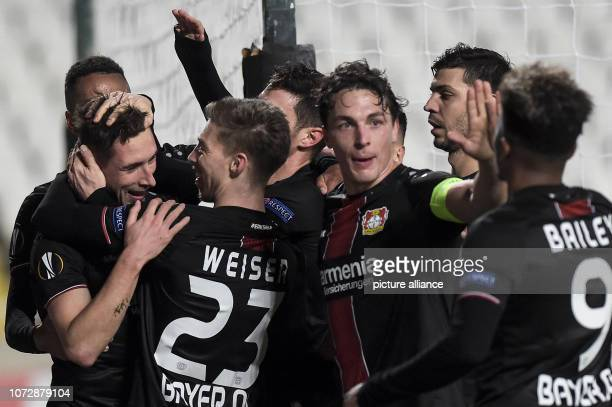 Soccer Europa League Group phase Group A Matchday 6 AEK Larnaca Bayer Leverkusen at the GSP Stadium The players of Leverkusen are looking forward to...