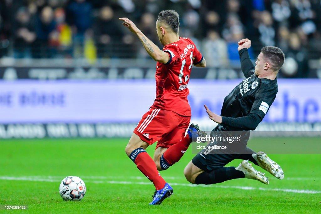 Bundesliga, Eintracht Frankfurt - FC Bayern Munich, 17th ...