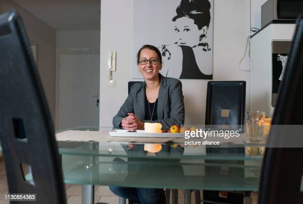 Esther Stark sits at the dining table of her apartment where she also writes her blog 'estherloveslife' In it she shares thoughts and suggestions for...