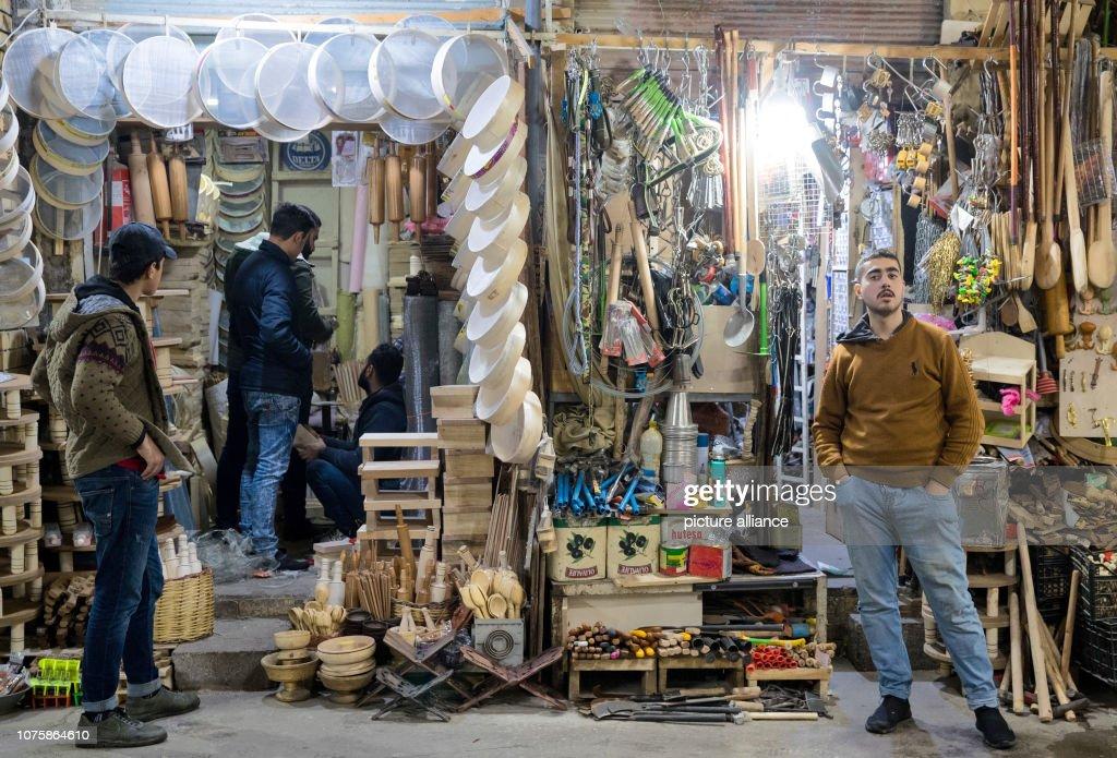 Bazaar of Erbil : Foto di attualità