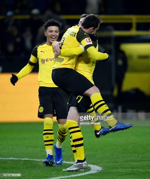 15 December 2018 North RhineWestphalia Dortmund Soccer Bundesliga Borussia Dortmund Werder Bremen 15th matchday at Signal Iduna Park Jadon Sancho...