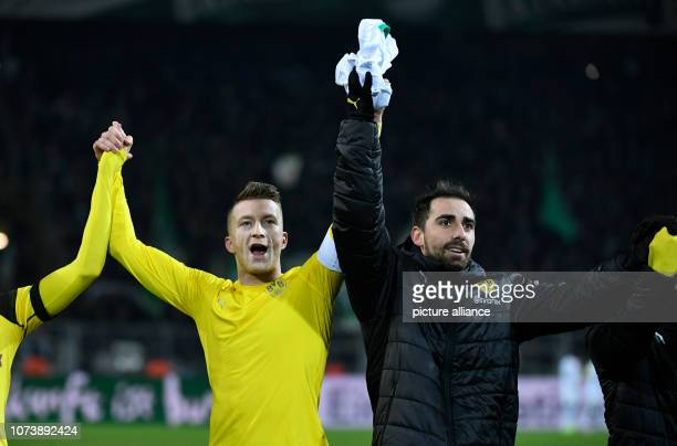 15 December 2018 North RhineWestphalia Dortmund Soccer Bundesliga Borussia Dortmund Werder Bremen 15th matchday at Signal Iduna Park Marco Reus and...