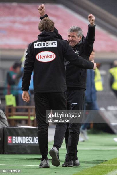 15 December 2018 North RhineWestphalia Düsseldorf Soccer Bundesliga Fortuna Düsseldorf SC Freiburg 15th matchday in the Merkur SpielArena Düsseldorf...