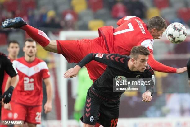 15 December 2018 North RhineWestphalia Düsseldorf Soccer Bundesliga Fortuna Düsseldorf SC Freiburg 15th matchday in the Merkur SpielArena...