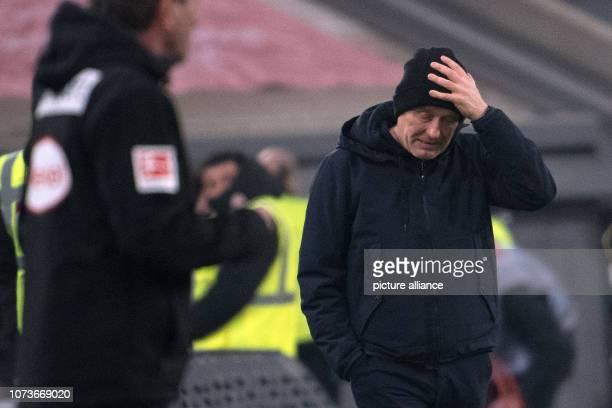 15 December 2018 North RhineWestphalia Düsseldorf Soccer Bundesliga Fortuna Düsseldorf SC Freiburg 15th matchday in the Merkur SpielArena Freiburg...