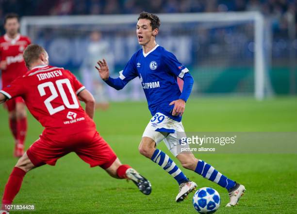 December 2018, North Rhine-Westphalia, Gelsenkirchen: Soccer: Champions League, FC Schalke 04 - Locomotive Moscow, Group stage, Group D, 6th matchday...
