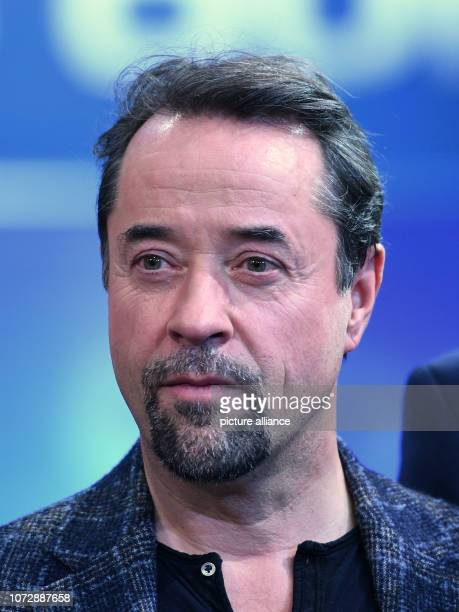 14 December 2018 North RhineWestphalia Köln The actor Jan Josef Liefers is in the studio after the recording of the ARD show '2018 Das Quiz' The show...