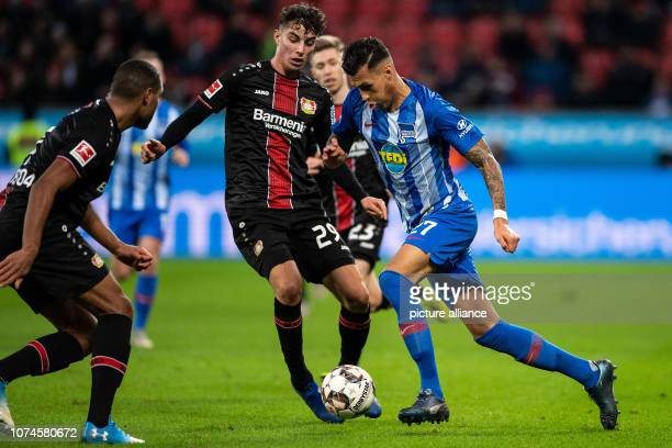 22 December 2018 North RhineWestphalia Leverkusen Soccer Bundesliga Bayer Leverkusen Hertha BSC 17th matchday in the BayArena Leverkusen's Kai...