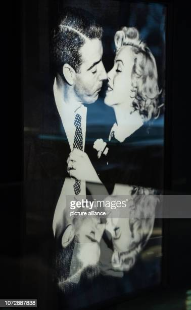 11 December 2018 RhinelandPalatinate Speyer The photo in the exhibition shows Marilyn Monroe kissing her then husband Joe DiMaggio The 'Historical...