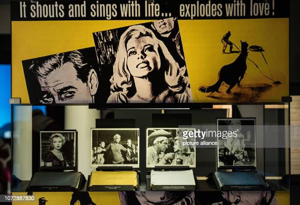11 December 2018 RhinelandPalatinate Speyer The photos show Marilyn Monroe in the films 'Bus Stop' 'Let`s Make Love' 'The Misfits' and 'Something's...