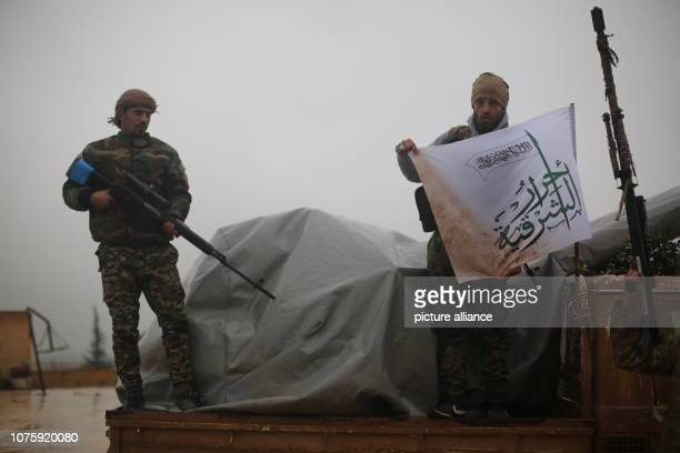 December 2018, Syria, Manbij: Turkey-backed Syrian militia mobilises near the Northern Syrian city of Manbij, which is mainly carried out by Kurdish...