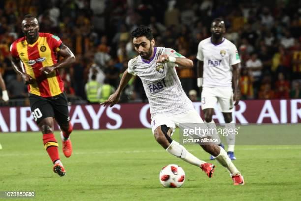 7ee27c7612 15 December 2018 United Arab Emirates Al Ain Al Ain s Hussein El Shahat  scores his side s