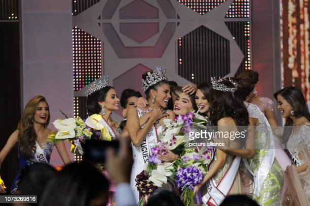 Isabella Rodríguez is happy about her coronation as Miss Venezuela 2018 She started as a candidate for the state of Portuguesa Photo Boris Vergara/dpa