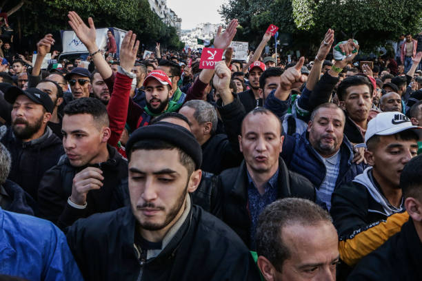 DZA: Protest Against Presidential Election In Algeria