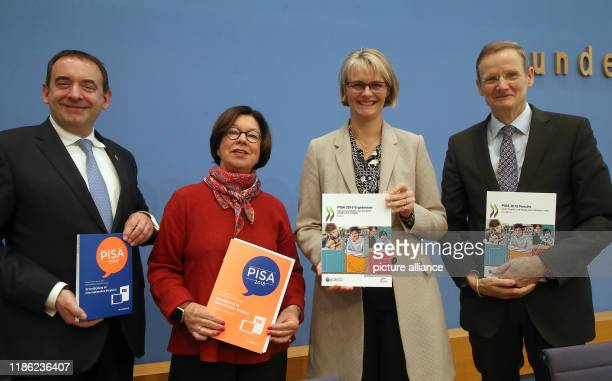 December 2019, Berlin: Alexander Lorz , President of the Standing Conference of the Ministers of Education and Cultural Affairs of the Länder in the...