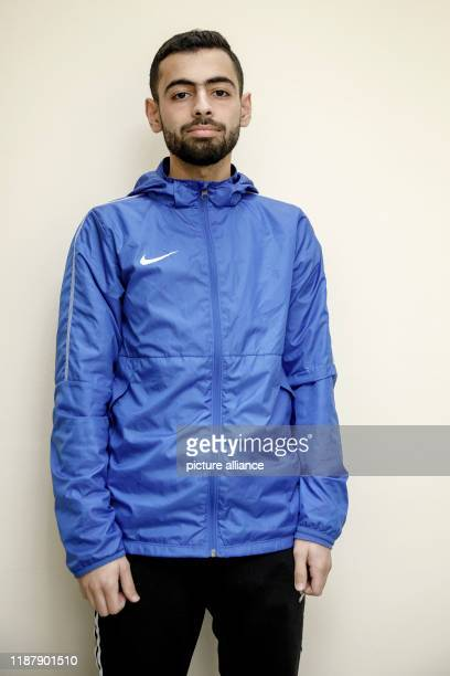 December 2019, Berlin: Ghaith Kachmar is a participant in a course to train as a referee at the Berlin Football Association. Photo: Carsten Koall/dpa