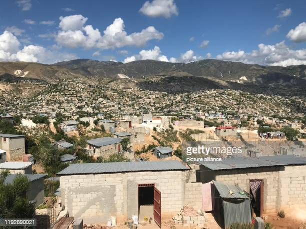December 2019, Haiti, Canaan: On the outskirts of the Haitian capital Port-au-Prince, the municipality of Canaan extends. This was created after the...