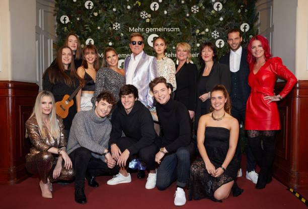 DEU: World's First Facebook Christmas Concert