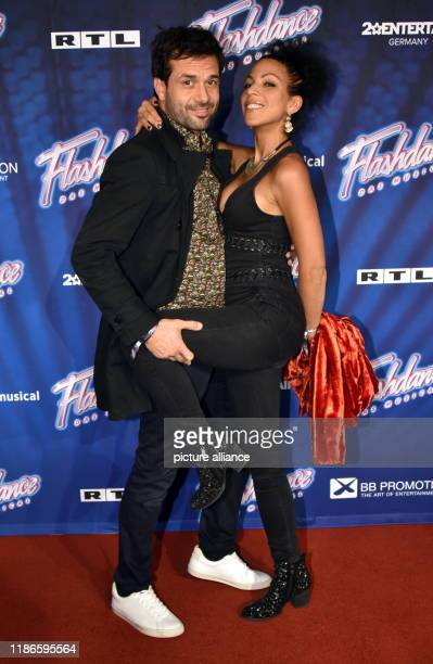 04 December 2019 North RhineWestphalia Cologne Actors Kai Schumann and Marva Schreiber come to the premiere and tour kickoff of Flashdance The...