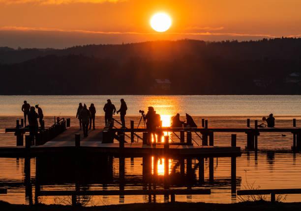 DEU: Coronavirus - Lake Starnberg In Bavaria