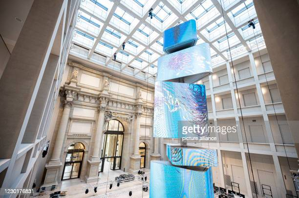 December 2020, Berlin;Berlin, Berlin: The foyer of the Humboldt Forum. The Humboldt Forum in the rebuilt Berlin Palace opened its doors on 16...