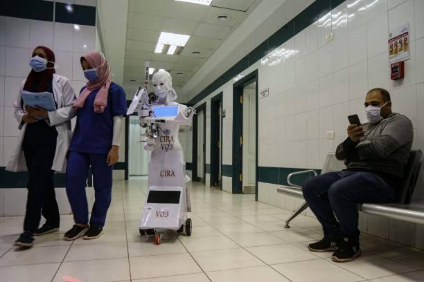 EGY: Coronavirus - Testing Robot In Egypt