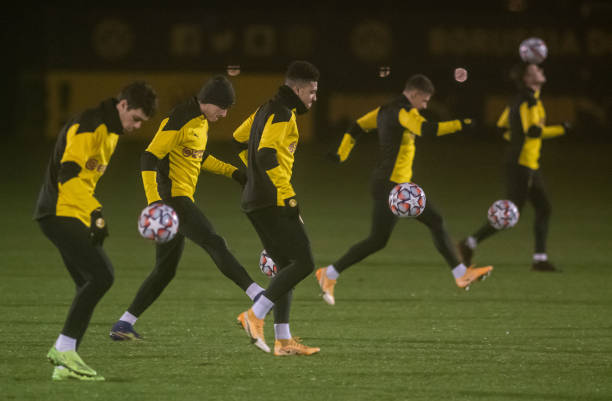 DEU: Champions League - Training Borussia Dortmund