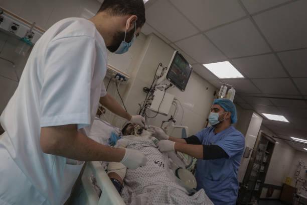GZA: Coronavirus ICU At Shifa Hospital In Gaza