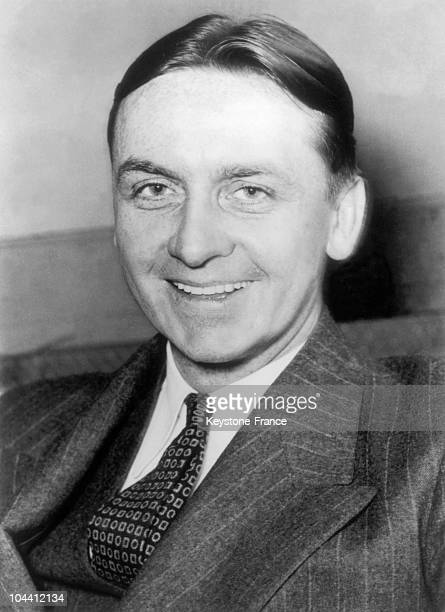 December 22 1935 portrait of the American federal agent Eliot NESS He arrested the gangster AL CAPONE and many other tax evaders who he fought...