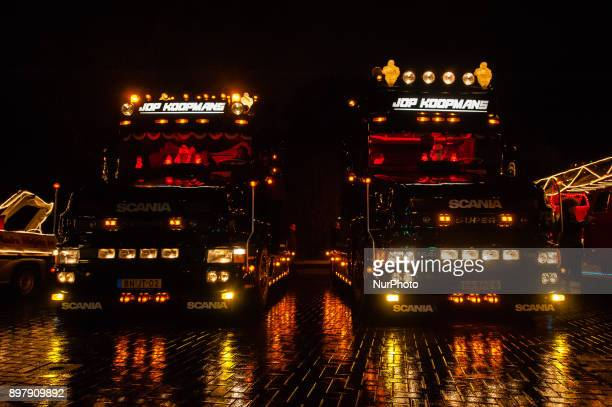 December 23th Nijmegen For the second time The Truck Light Parade was celebrated in Nijmegen The Parade took place around the center of the city and...